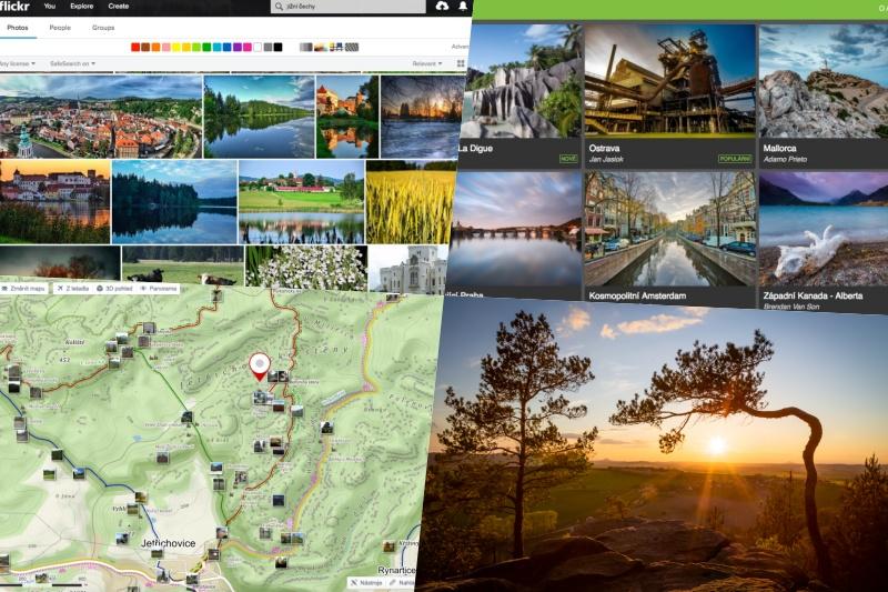 Jak najít nové foto lokality.