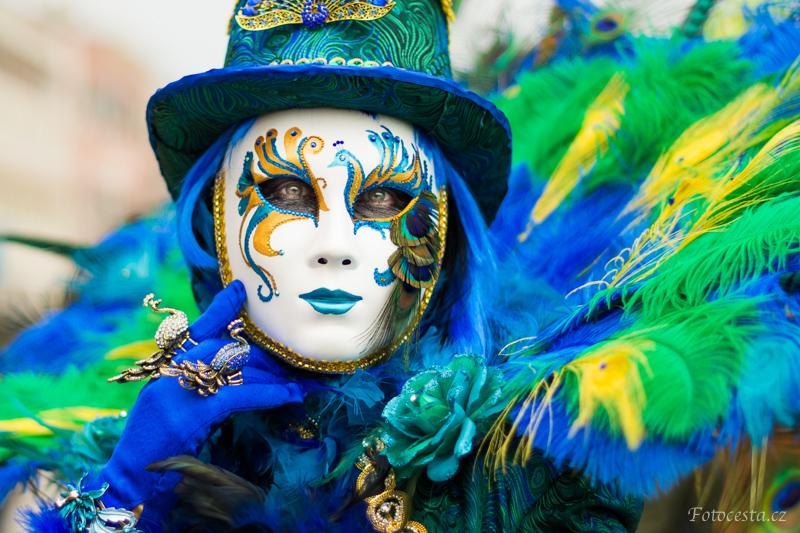 Benátská maska.