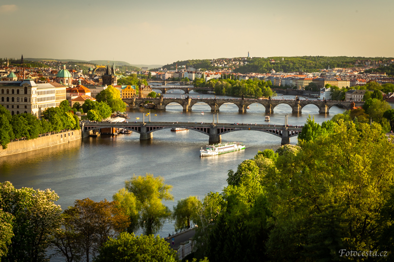 Praha na Letné.