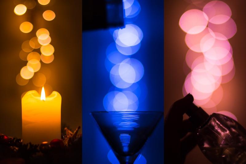 Sváteční světla.