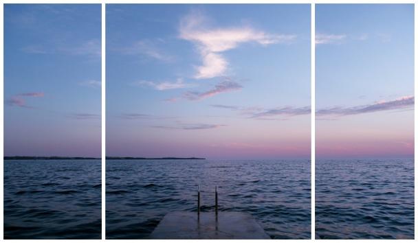 Triptych z jednoho obrazu.