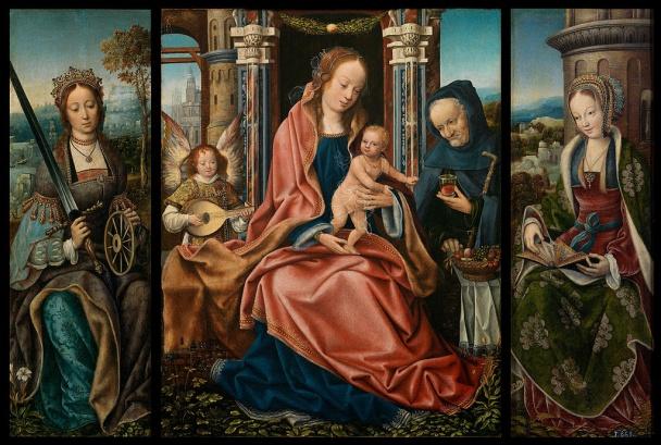 Triptych a jeho historie.