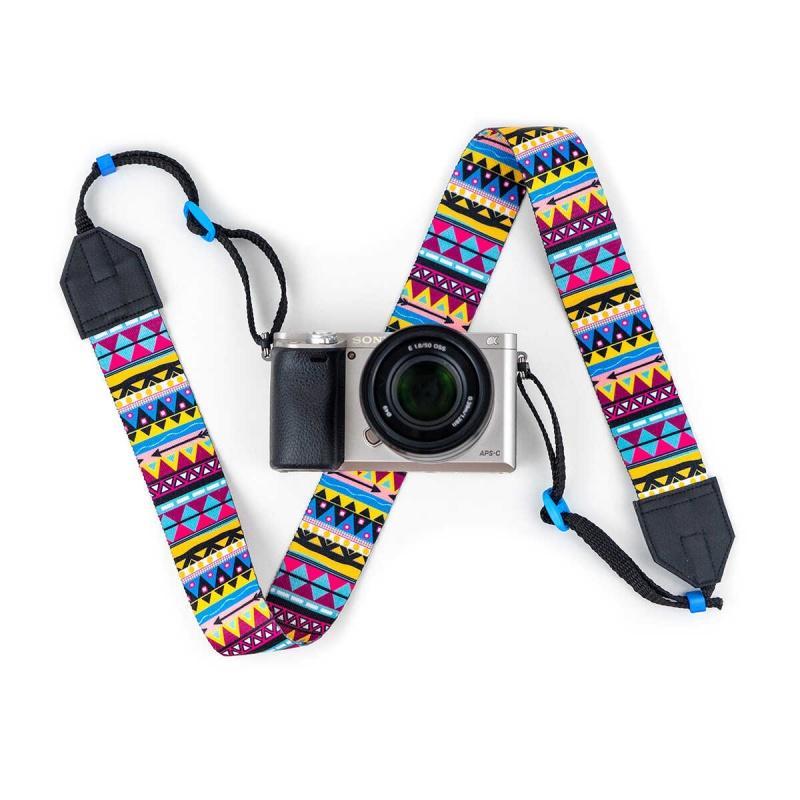 Popruh na fotoaparát od Lokoko.