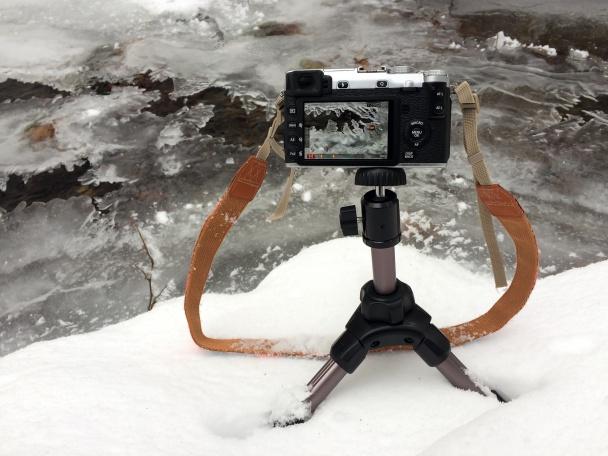 Bezzrcadlovka Fujifilm X-E2.