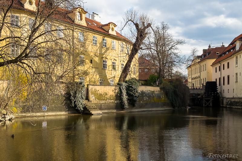 Na Kampě v Praze.