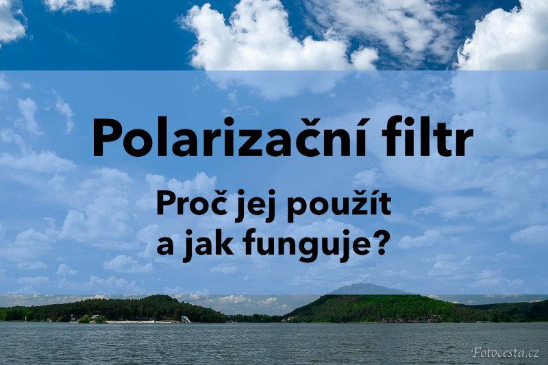 Polarizační filtr.