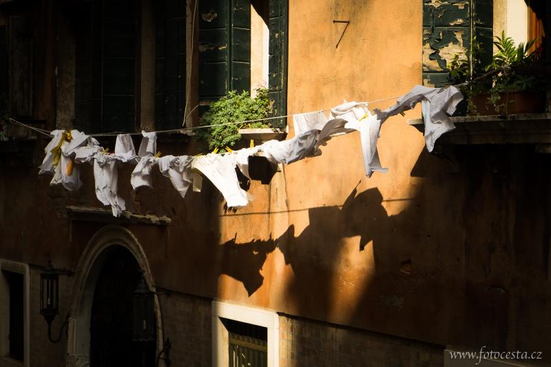 Benátská ulička.