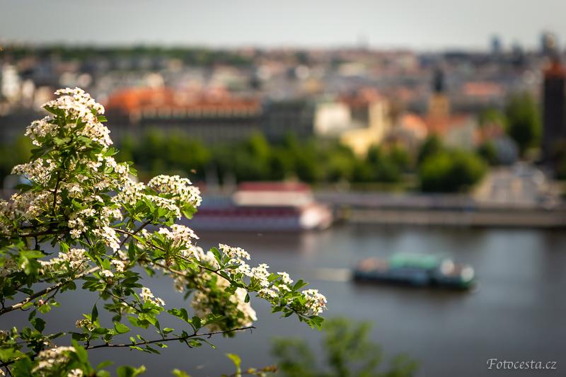 Jarní Praha.