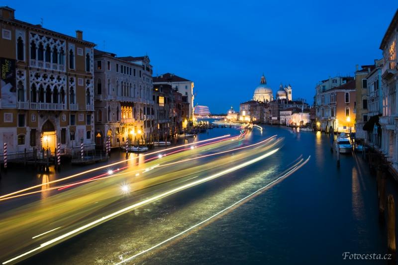 Kanal Grande, Benátky.