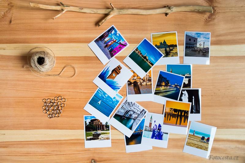 Materiál pro výrobu dřevěného držáku na fotky.