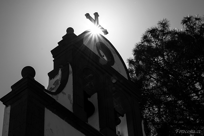 Kostel na Gran Canaria.