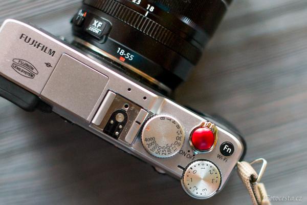 Fotoaparát Fujifilm.