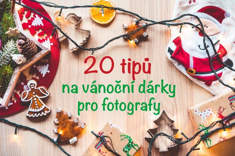 Vánoční dárky pro fotografy.