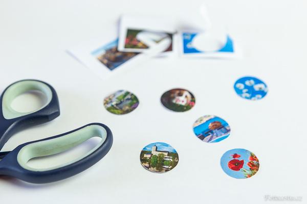Návod na výrobu magnetek s vlastní fotkou.