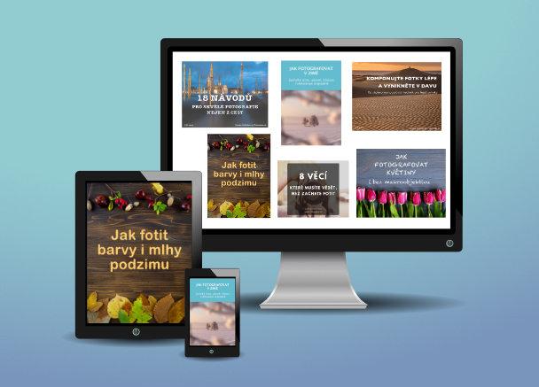 Kolekce ebooků od Fotocesy.